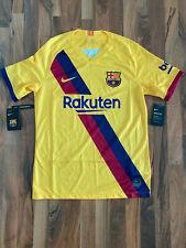 Nike FC Barcelona Fussball Trikot 2019/2020 | Gelb | Größe M | NEU