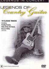 LEGENDS OF COUNTRY GUITAR In Concert DVD - Region Free