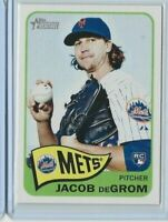 2014 Heritage High Number #H549 Jacob deGrom RC New York Mets Rookie 2X Cy Young