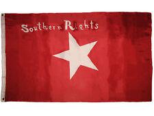 3x5 Southern Rights Bonnie Red CSA Civil War flag 3'x5' Polyester Flag