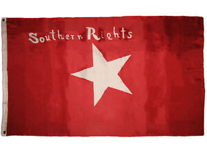 3x5 Southern Rights Bonnie Red CSA Civil War flag 3'x5' Polyester Flag
