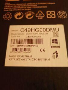 """LC49HG90DMUXEN - Samsung C49HG90DMU 124.5 cm (49"""") 3840 x 1080 pixels QLED Black"""