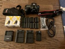 Canon EOS 5D Mark III Camera (Body Only) plus Accessories. **Low Shutter Count**