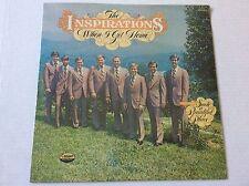 1977 The Inspirations WHEN I GET HOME so. gospel vinyl LP SEALED + bonus