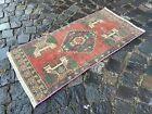 Decor rug, Turkish rug, Vintage rug, Handmade rug, Small rug | 1,6 x 3,4 ft