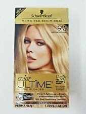 Schwarzkopf Ultime Hair Color Cream Iconic Blondes 9 1/2 Light Natural Blonde