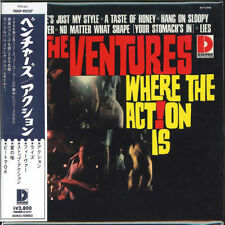 THE VENTURES-WHERE THE ACTION IS ! (MONO & STEREO)-JAPAN MINI LP SHM-CD G00