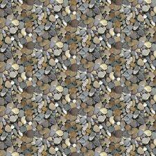 Pebbles #94-93 Naturescapes Stonehenge Quilt Fabric by the 1/2 yard