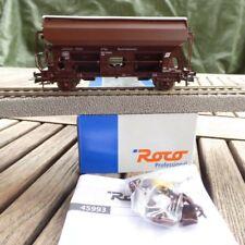 Roco 45993 H0 Selbstentlade- Swinging Roof Wagon Salt, Seitenentladewg.öbb
