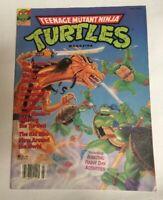 RARE Vintage Teenage Mutant Ninja Turtles Magazine Fall 1990