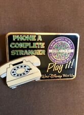 Disney Pin: WDW - Who Wants To Be A Millionaire (Phone A Complete Stranger)