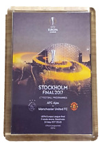 Stockholm 2017 Europa League Final Programme - Manchester United Fridge Magnet