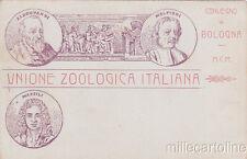 * BOLOGNA - Unione Zoologica Italiana (Aldrovandi, Malpighi, Marsili)