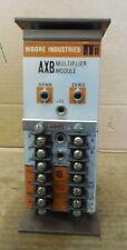 Moore AXB Multiplier Module AXB/1X4-20MA/4-20MA/117AC/-TT-SG STD Used