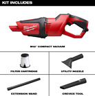 Best Cordless Car Vacuums - Milwaukee Cordless Compact Vacuum Vac Cleaner Stick Handheld Review