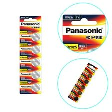 10 Pcs Battery for Panasonic CR2032 3V Button Cell Batteries for Watch Toy More