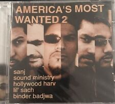 AMERICA'S MOST WANTED 2 - BHANGRA CD - STILL SEALED. ENVY.  Sanj. Lil Sach.