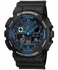 CASIO G-SHOCK Men's Watch GA-100-1A2 Overseas model [reverse imported goods]