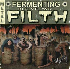 V.A.  Fermenting In Five-Way Filth CD (Path.Ex,2009) *HEINOUS KILLINGS, CUMBEAST