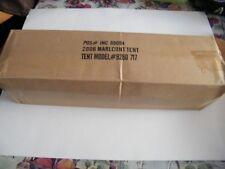 2006 Marlboro 7' x 7' Coleman Sundome Tent New in Box With Paperwork
