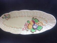 "Huge Royal Staffordshire Pottery AJ Wilkinson Clarice Cliff Fruit Platter 15"""