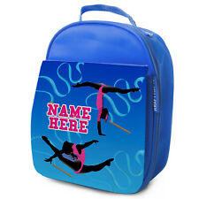 Gymnastic Lunch Bag School Childrens Insulated Girls Lunchbox Personalised ST455
