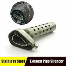 Motorcycle Exhaust Pipe Silencer Muffler DB Baffle Adjustable Killer Universal