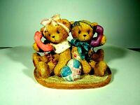 CHERISHED TEDDIES JUDY & DIANE # 864382 FIGURINE RARE SIGNED GLEN HILLMAN 2001