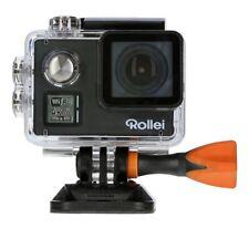 Rollei Actioncam 530 WiFi Action Cam mit 4k Video Auflösung schwarz 40 m Tauchti