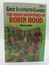 Great Illustrated Classics The Merry Adventures Of Robin Hood Hardcover