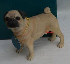 AD-P92JW Pug Dog Girls//Ladies Denim Purse Wallet Christmas Gift Idea