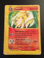 Carte Pokemon FEUNARD 57/165 Rare Expédition Wizard Française