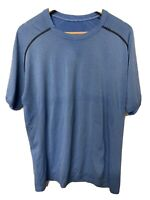 Men's Lululemon Metal Vent Short Sleeve Crew Neck T-Shirt Blue 2-XLarge XXL