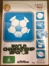 World Championship Sports (Nintendo Wii, 2009)