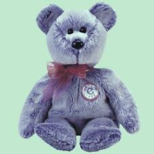 Vente TY Beanie Periwinkle Teddy Bear Cadeau Idéal Noël Royal Mail Post