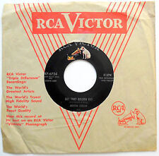 MARTHA CARSON 45 Get That Golden Key / He Was There COUNTRY Rocker 1956 w3075