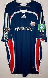 New England Revolution Adidas MLS Cup 2006 Final Clint Dempsey Soccer Jersey