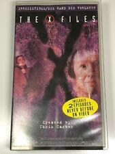 The X Files VHS Video Tape x2 Episodes IRRESISTIBLE / DIE HAND DIE VERLETZT(NEW)
