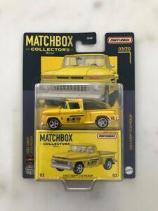 Matchbox Collectors 2021 - 1963 Chevy C/10 Pickup #03/20 Mooneyes