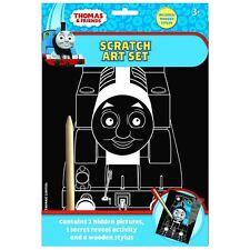 Thomas & Friends Scratch Art Set Fun Craft Play For Kids