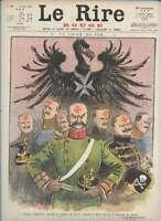 Journal Le RIRE Rouge, édition de guerre N° 30 du 12 juin 1915