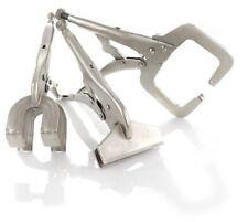 3 Pcs Welding Locking Pliers Sheet Metal Clamp Quick Lock & Release Plier