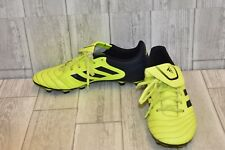 Adidas Copa Soccer Cleats, Men's Size 10.5, Black/Yellow