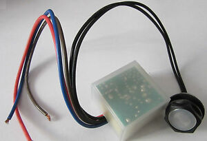 Photocell 20mm 2 Part Electronic Remote Auto switch dusk till dawn sensor IP65
