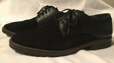 MENS JEFFREY TYLER Black Oxford Size 12M EXCELLENT PRE-OWNED CONDITION