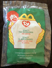 McDonald'S Happy Meal Toy - ty Toy Animal - Spike The Rhinoceros