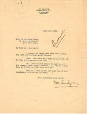 2 SIGNED Documents! WILLIAM SULZER (GREAT MCGINTY) & GIFT