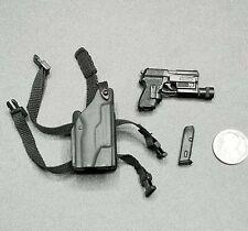 "1:6 BBI HK Pistol w/ Tac Light & Holster 12"" GI Joe Dragon DamToys SWAT SEAL"