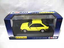 Corgi Vanguards Ford Escort Mk3 XR3i  Prairie Yellow  VA11011