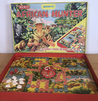 VINTAGE MERIT 6003 MAGNETIC AFRICAN JUNGLE GAME NOS COMPLETE BOXED (AM513)